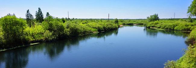 Река Уборть